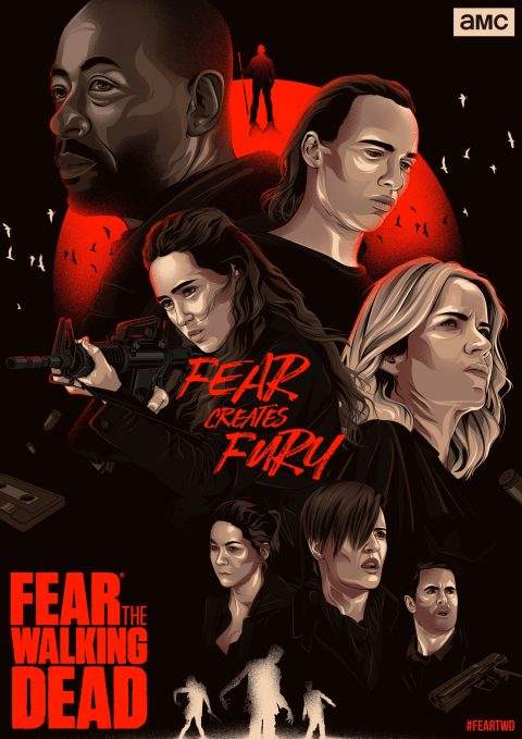 Fear the Walking Dead Season 4 Alternative Poster (Variant 2)