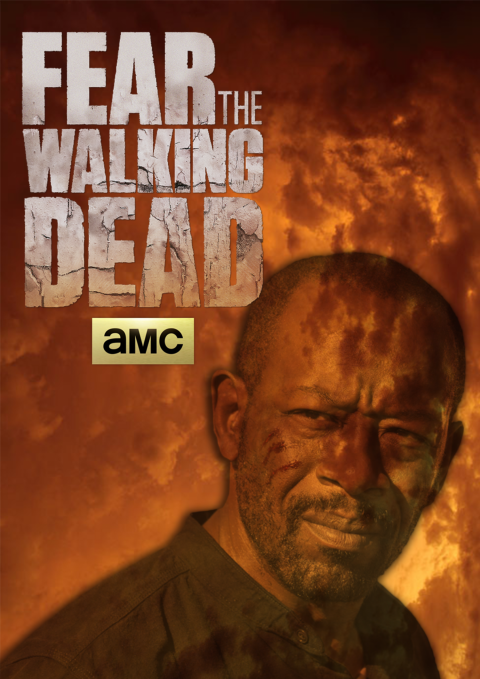 MORGAN JONES POSTER S04 FEAR THE WALKING DEAD #FTWD-ES