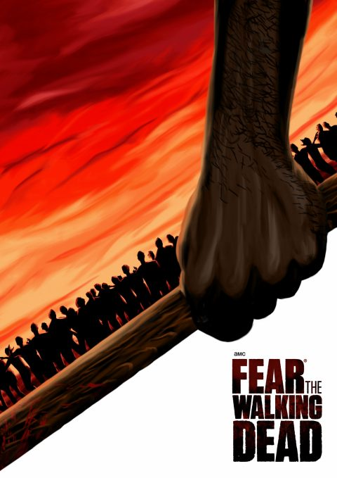 Fear The Walking Dead Red Variant
