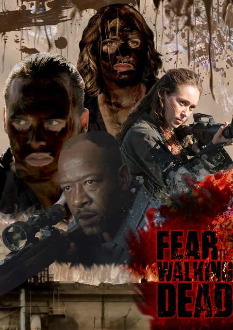 #2! Poster Season 4* FEAR The WALKING Dead #FTWD-ES #FEARTWD