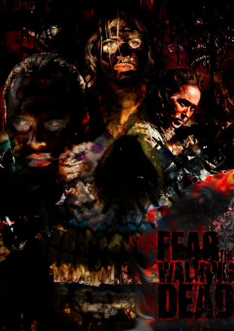 Poster Season 4* FEAR The WALKING Dead #FTWD-ES #FEARTWD