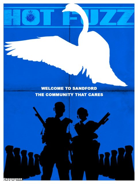 Hot Fuzz – Welcome To Sandford