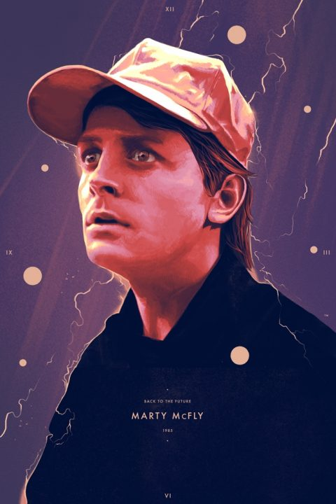 Traveling man – Marty McFly