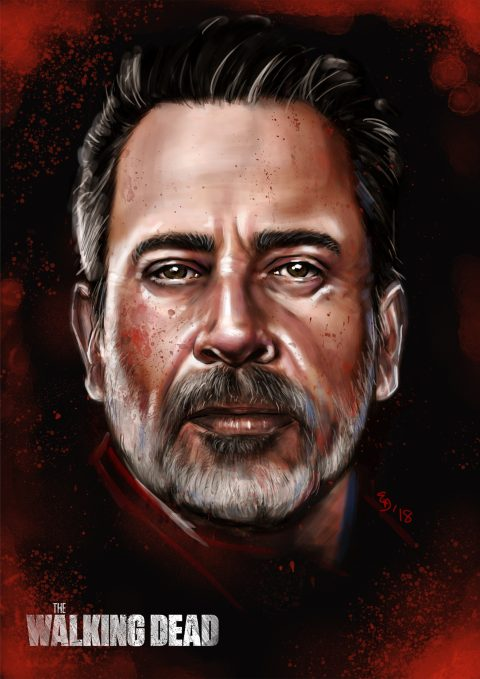 """The Walking Dead – Negan """"War"""""""