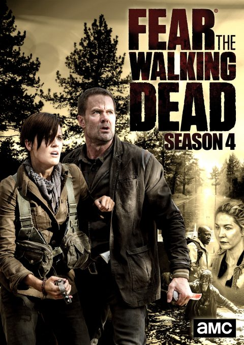 POSTER WALKING DEAD SEASON 4