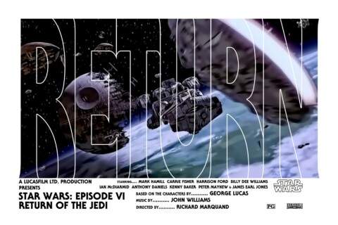 Star Wars Episode VI Return of the Jedi (Millennium Falcon Variant)