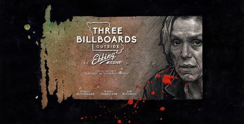 Alternative poster for Three Billboards Outside Ebbing, Missouri – version one