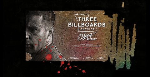 Alternative poster for Three Billboards Outside Ebbing, Missouri – second version