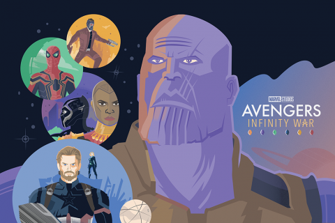 Avengers: Infinity War – Worlds Collide