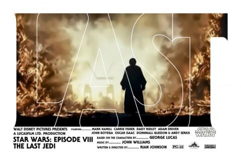 Star Wars Episode VIII The Last Jedi (Variant)