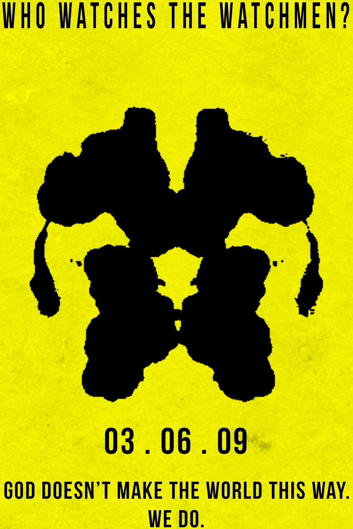 1d0f9553f Who Watches The Watchmen - PosterSpy