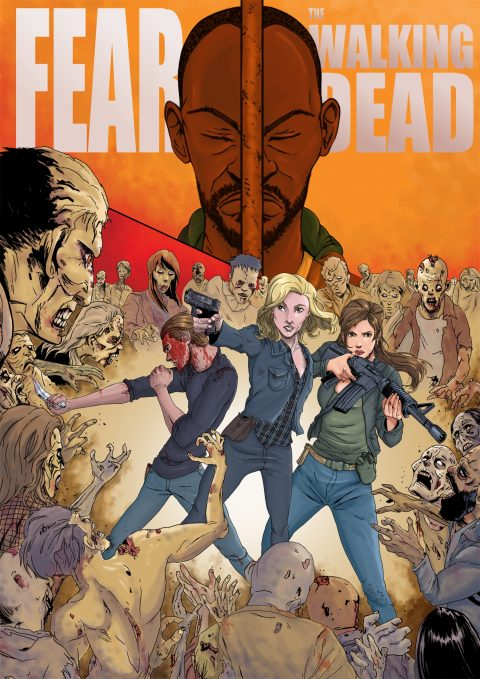 Fear the Walking Dead Poster S04 #FTWD-PT