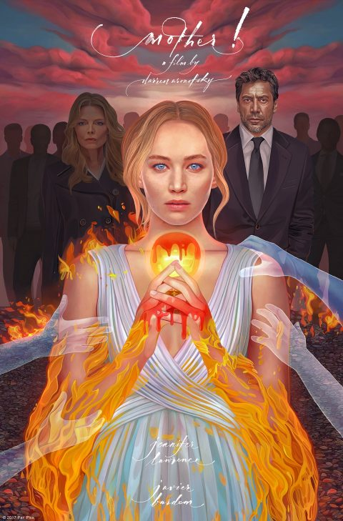 'Mother!' Commissioned movie poster