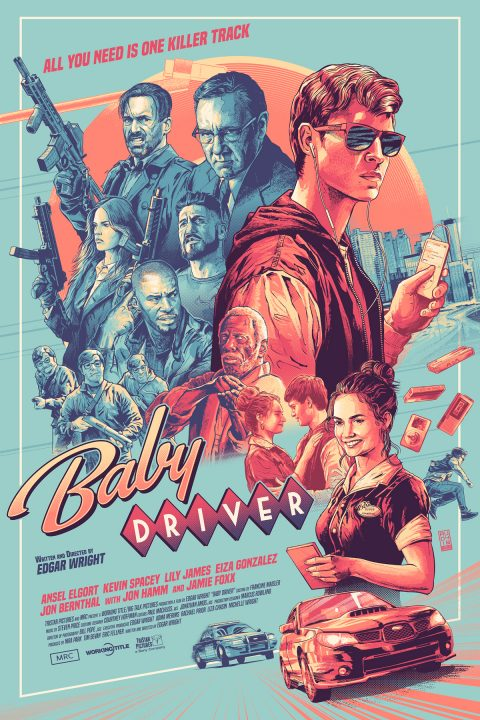 Was he slow? – Baby Driver comission