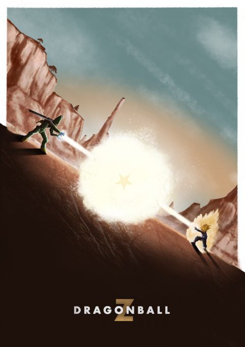 DragonBall Z – Gohan Vs Cell: Cell Saga.