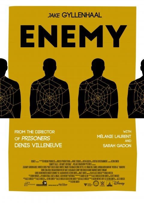 Enemy (2014) dir. dennis villeneuve