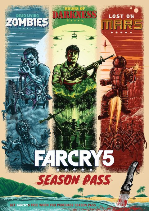 Official FAR CRY 5 Season Pass Poster
