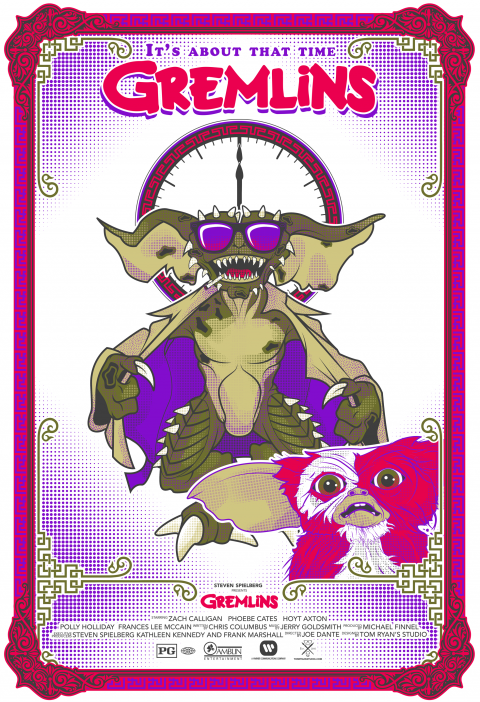 Gremlins Alternate Movie Poster