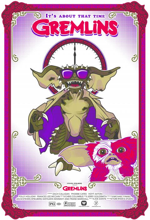 Gremlins Alternate Movie Poster
