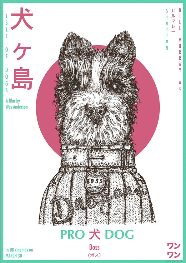 Isle Of Dogs Movie Poster Boss Posterspy
