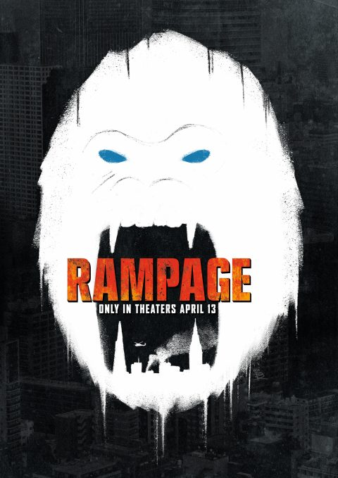Rampage Poster B&W Variant