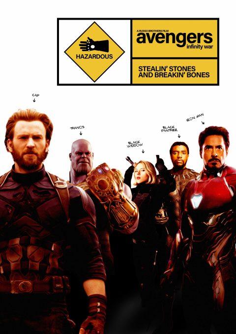 Snatch X Avengers Infinity War Poster