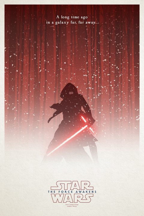 The Force Awakens: Kylo Res