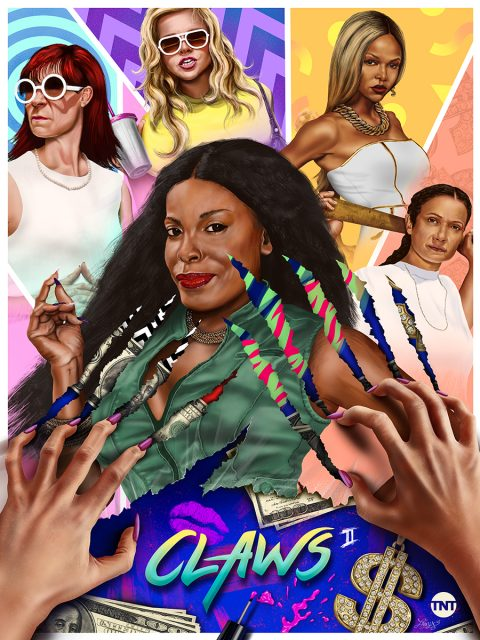 Claws season 2 illustrated Poster