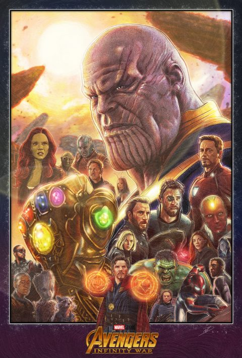 Avengers: Infinity War alternative movie poster