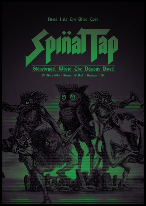 Spinal Tap Gig Poster