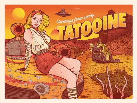 Greetings From Sunny Tatooine