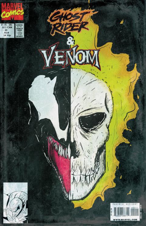 Ghost Rider Vs. Venom