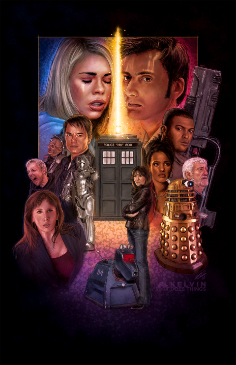 Doctor Who – The 10th Doctor Era