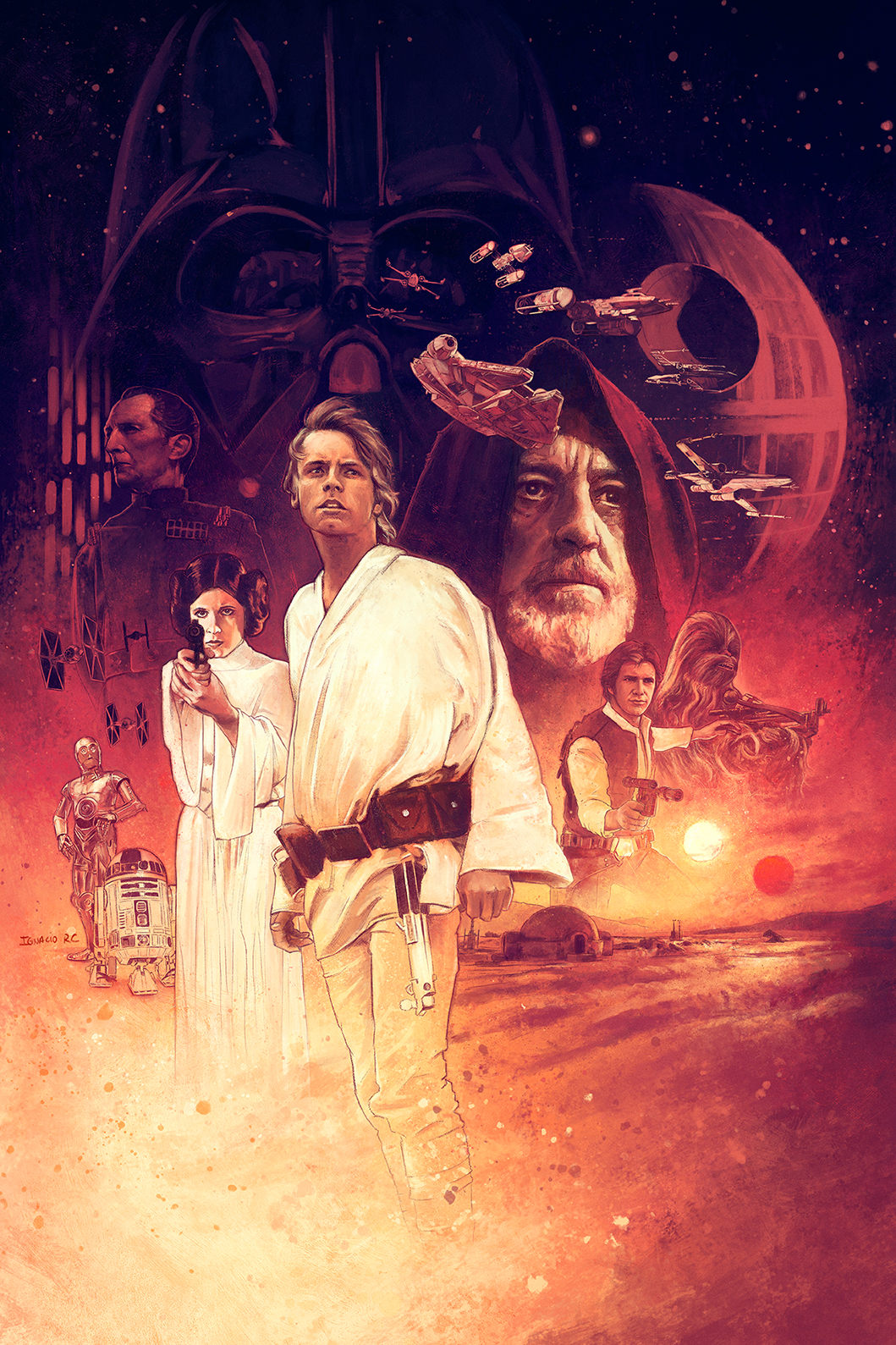 Star Wars Episode Iv A New Hope Posterspy