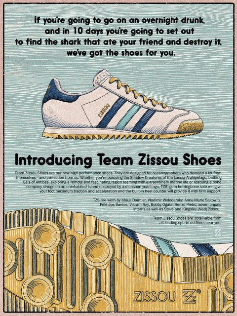 Team Zissou Shoes – Life Aquatic