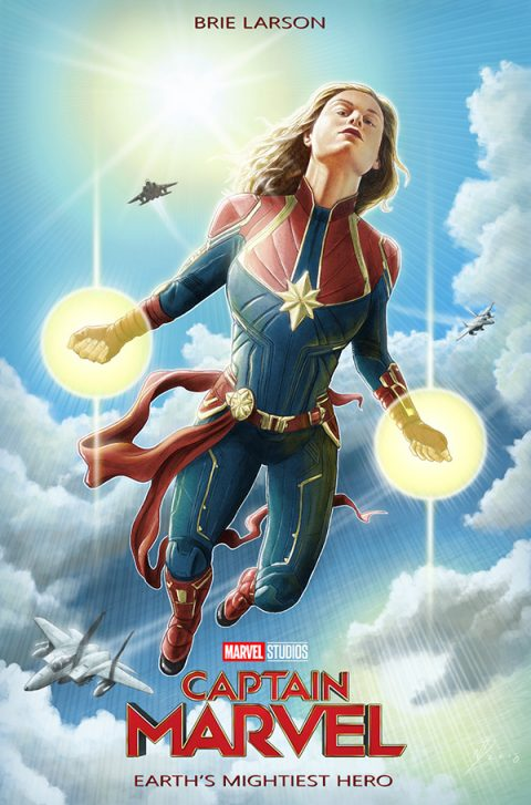 Captain Marvel alternative movie poster