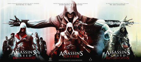 Assassin's Creed 2 – Ezio's Trilogy Alternative Poster
