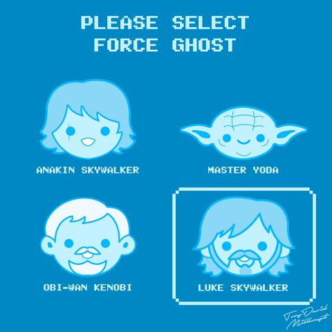 Select Your Force Ghost