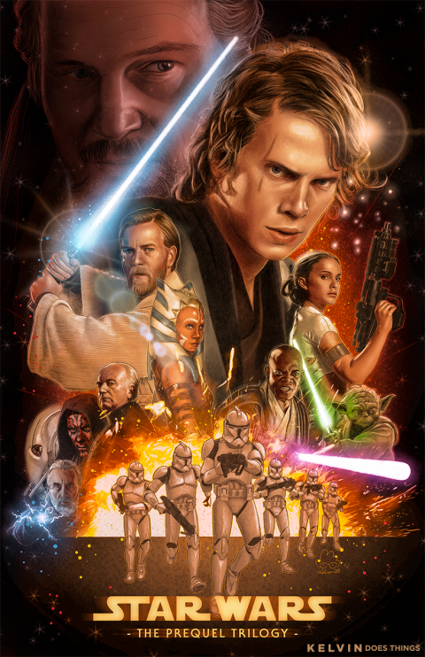 Star Wars – The Prequel Trilogy