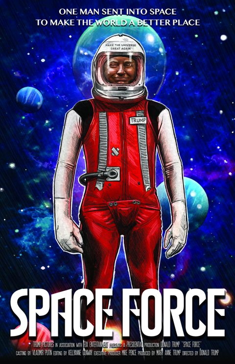 Space Force Mock Movie Poster