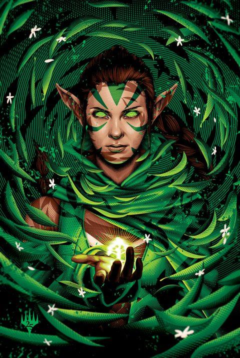MTG 25th Anniversary Poster – Green Mana