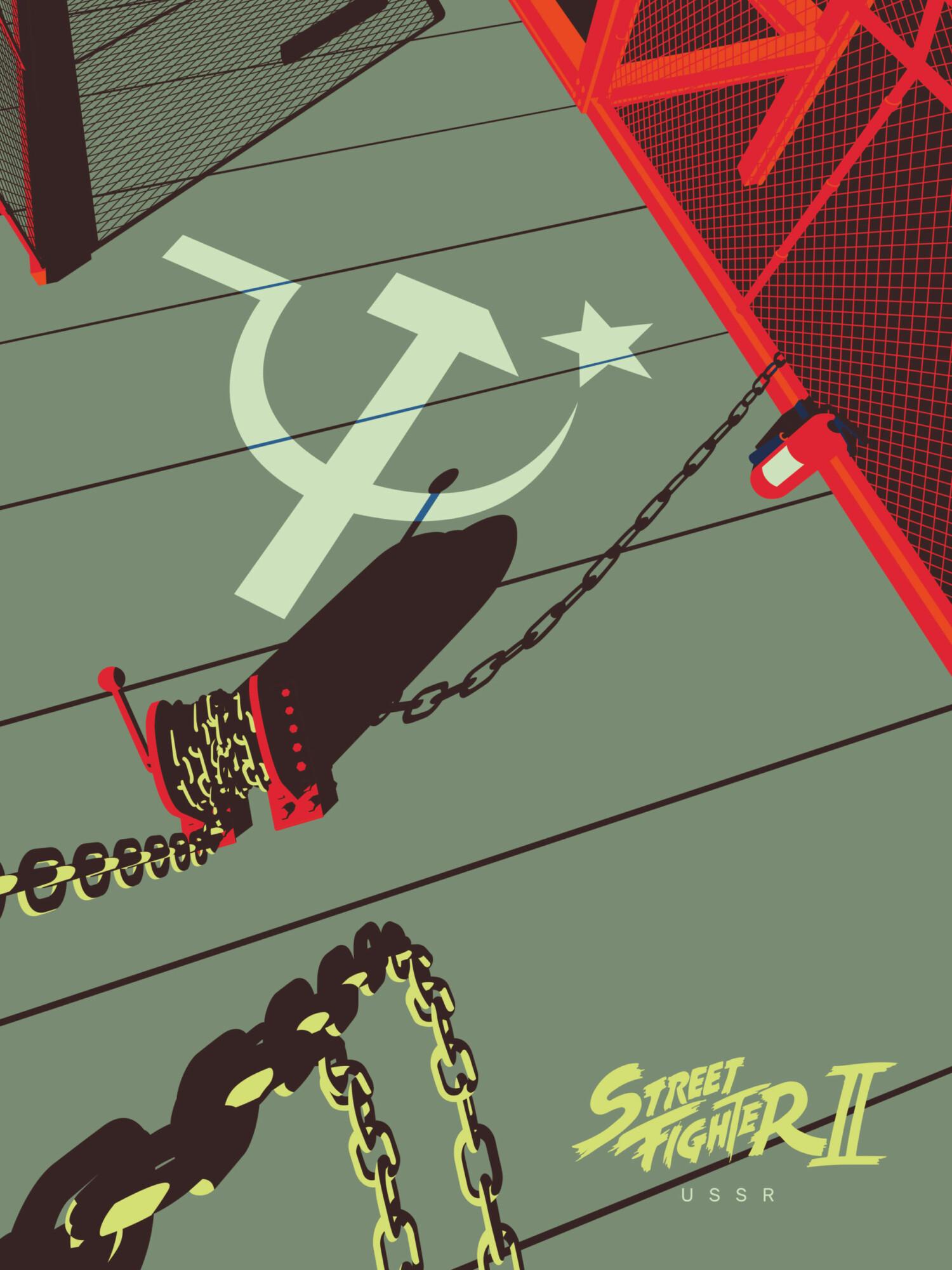 Streetfighter 2 - USSR/Zangief - PosterSpy
