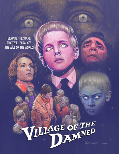 "Tribute Poster for ""Village of the Damned"" (1960)"