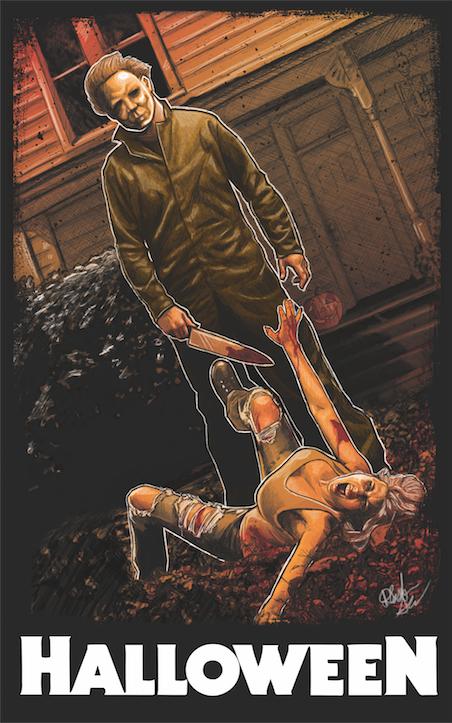 Halloween Victim Poster