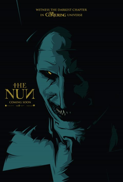 The Nun Crucifix Poster