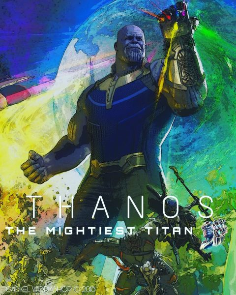 Thanos The Mightiest Titan