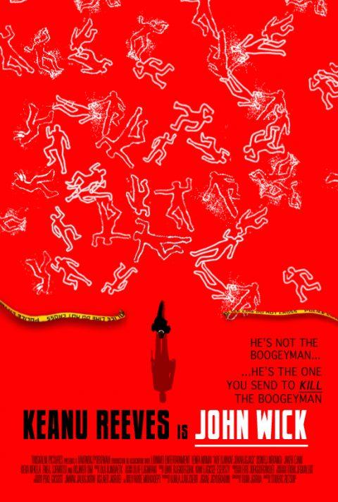 John Wick [Saul Bass style] poster