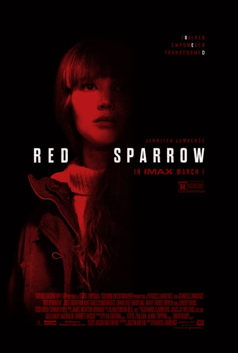 Red Sparrow – IMAX One-Sheet