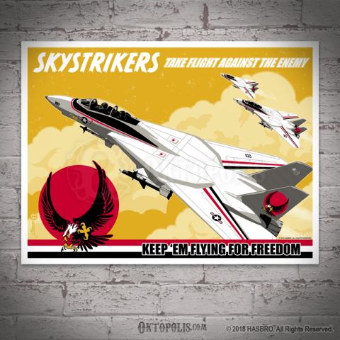 G.I. JOE: Skystrikers Take Flight