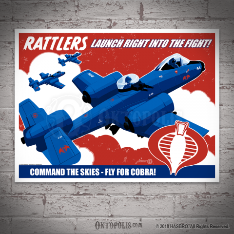 COBRA: Rattlers Command the Skies